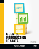 Stata入門書「A Gentle Introduction to Stata, Fifth Edition」